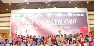 Chương trình Hội tụ đỉnh cao ngành làm đẹp Việt Nam thành công rực rỡ