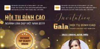 hội tụ đỉnh cao ngành làm đẹp Việt Nam