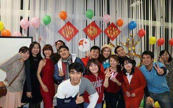 thực tập sinh cũng tổ chức lễ kỉ niệm ngày tết Việt Nam